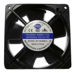 Best Electronics BT12025B1L AC115V Dual Ball Bearing 120X25MM AC Fan