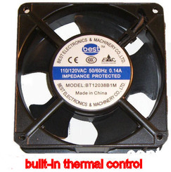 Best Electronics BT12038B1M AC115V Dual Ball Bearing 120X38MM AC Fan