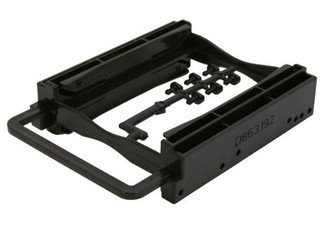 BYTECC Bracket-252K Dual 2.5In HDD/SSD Screwless Bracket For 3.5in Bay