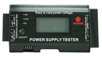 CoolMax PS-228 24pin LCD Power Supply/SystemTester