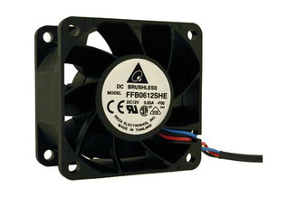 Delta FFB0612SHE 60x60x38mm Fan, 3Pin