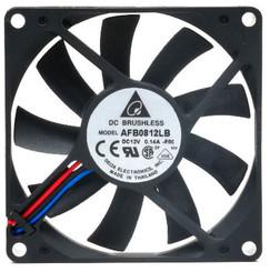 Delta AFB0812LB-F00 80mm x 15mm Fan, 3Pin