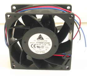 Delta FFB0812VHE-F00 80x80x38mm Fan (3 Bare wires)