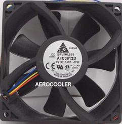 Delta AFC0912D-PWM 92x25mm Extreme Hi PWM Fan, PWM 4pin