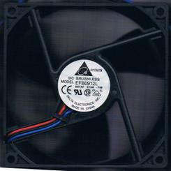 Delta EFB0912L-F00 92x92x25mm Triple Blade Ball Bearing Fan