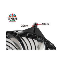 Enermax UCTVQ18A T.B.VEGAS QUAD Blue/Red/Green/White 4 Color LED 180mm Fan