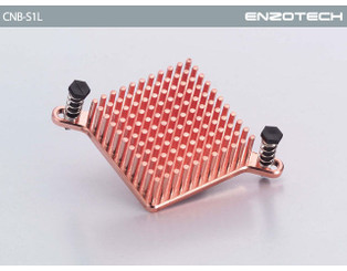 Enzotech CNB-S1L One-Piece Low Profile Copper Northbridge Heatsink