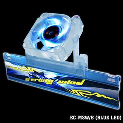 EverCool EC-MSW/B Strong Wind Memory Cooler (Blue)