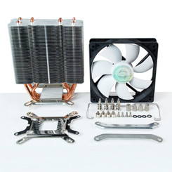 EverCool HPQ-12025 Venti LGA1155/1156 HDT Pipe PWM Fan CPU Cooler