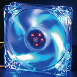 Evercool 92mm 4 Blue LED Case Fan CLB-9225-4LD2