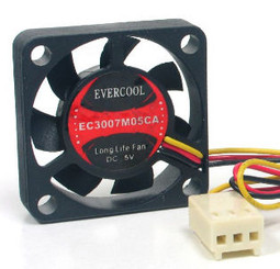 EverCool EC3007M05CA 30X30X7 mm 5V Fan 3Pin