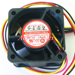EverCool EC4028HH12BA 40x28mm Dual Ball Bearing Fan, 3pin