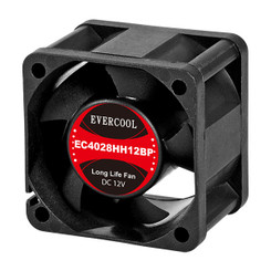 EverCool EC4028HH12BP 40x28mm PWM Fan, 4Pin PWM