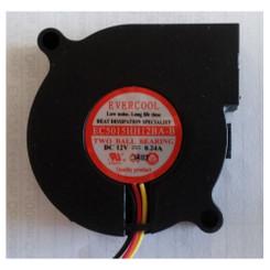 EverCool EC5015HH12BA-B 50x15mm Dual Ball Bearing 12V DC Blower Fan
