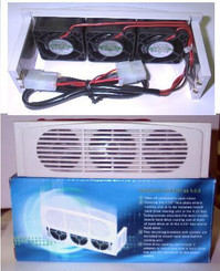 EverCool HK-3F HDD Cooler w/ 3 Fans & 5.25inch Bay mounting Kit