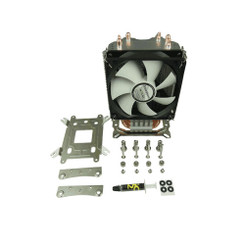 Gelid CC-SnowStorm-01 SnowStorm Direct Touch 3 Heatpipe Universal CPU Cooler