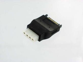 CB-ADP-SA-MO 4Pin Molex (F) to 15pin (M) SATA Power Adapter
