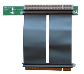 RC1009E 1-slot PCI 32bit/5V/33MHz riser card w/ 7cm Flex Cable
