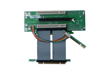 RC2740CX 2U PCI/PCIe Combo Riser Card w/custom length ribbon cable