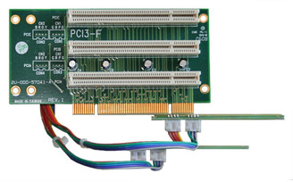 RC2007 2U 3*PCI-32bit/5V/33MHz single bus riser card