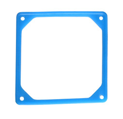80mm Fan Silencer (Rubber Frame) - UV BLUE
