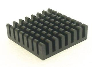 HS-03 27mm x 27mm x 8mm Aluminum Heatsink w/ Adheisve Tape