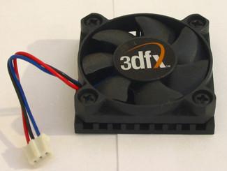 HS-40 40x40x10mm Aluminum Heatsink with 3Pin Fan