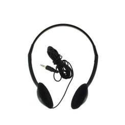 NOTE-302 Multimedia Stereo Headphone (Black)