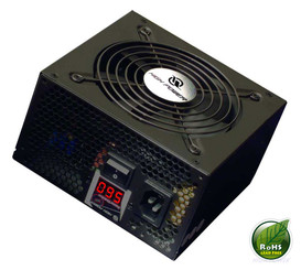 High Power HPC-500-A12S  500W w/ Wattage Meter