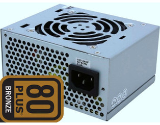 High Power SFX-350BR 80plus Bronze SFX/ATX/MATX Real 350W Power Supply