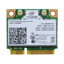 Intel 7260.HMWWB WiFi Wireless-AC 7260 H/T Dual Band 2x2 AC+ Bluetooth HMC