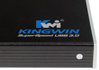 Kingwin KH-201U3-BK 2.5in SATA HDD USB 3.0 External Enclosure