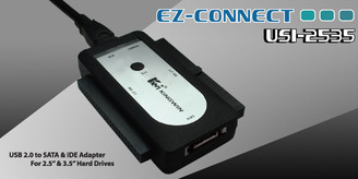 Kingwin USi-2535 Ez Connect USB 2.0 to SATA & IDE Adapter