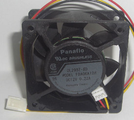 Panaflo FBA06A12H-XD 60x25mm Fan, 3Pin