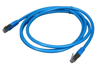 OK6GSB 6ft. Cat 6 Network Cable, STP (Shielded Twist Pair), 550 Mhz, Blue