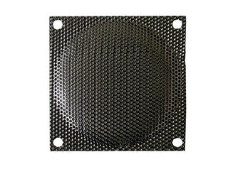 120mm Steel Mesh Fan Filter (Guard), Black, Small Hole