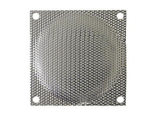 80mm Steel Mesh Fan Filter (Guard), Silver