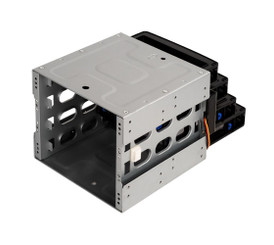 Silverstone CFP52B 5.25in to 3.5in Bay Converter w/ Hot-Swapping