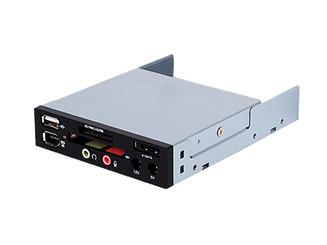 Silverstone SST-FP35B 3.5inch Bay I/O Ports Card Reader