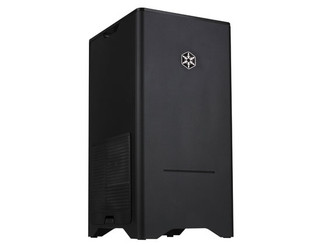 Silver SST-FT03B (black) MATX/DTX/Mini-ITX Small Footprint Tower Case