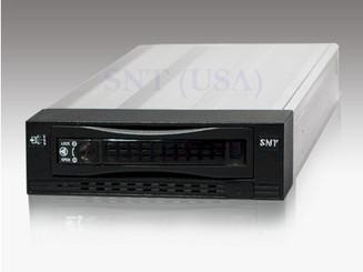 SNT SAS136B SAS/SATA 3.5inch HDD Aluminum Cableless Mobile Rack