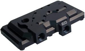 Swiftech MCP35X2-H-BK (Black) Dual Pump Housing for MCP35 Series Pump