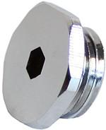 Swiftech G1-4-SOCKET-PLUG-CHR Socket Type G1/4 (1/4inch BSPP) Plug
