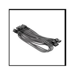 Thermaltake AC-013-CNONAN-PG Individually Sleeved 4Pin Peripheral Cable � Grey