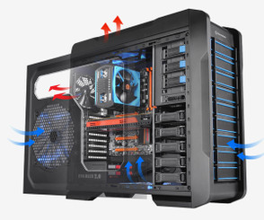 Thermaltake VP400M1W2N Chaser A71 Full Tower chassis