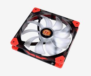 Thermaltake CL-F021-PL14BU-A Luna 14 LED Blue 140x140x25mm Fan, 3Pin