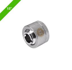 Thermaltake CL-W031-CA00SL-A Pacific 1/2in ID x 5/8in OD Compression � Chrome