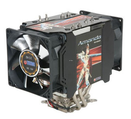 Titan AMANDA TTC-NP05TZ TEC/Heatpipe CPU Cooler