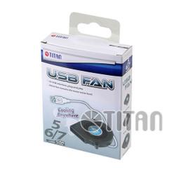 Titan TFD-B7515LL05B DC5V USB 75x15mm Blower Fan