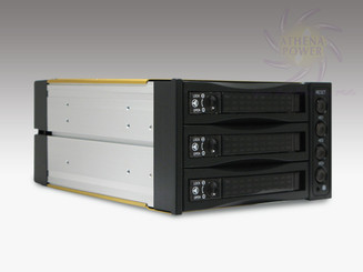 Athena Power BP-SAC2131B Hot-Swap 3x3.5in SATA/SAS HDD Internal Backplane